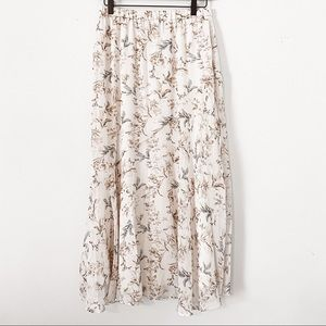 NWT DREW by Anthropologie Naomi Floral Skirt